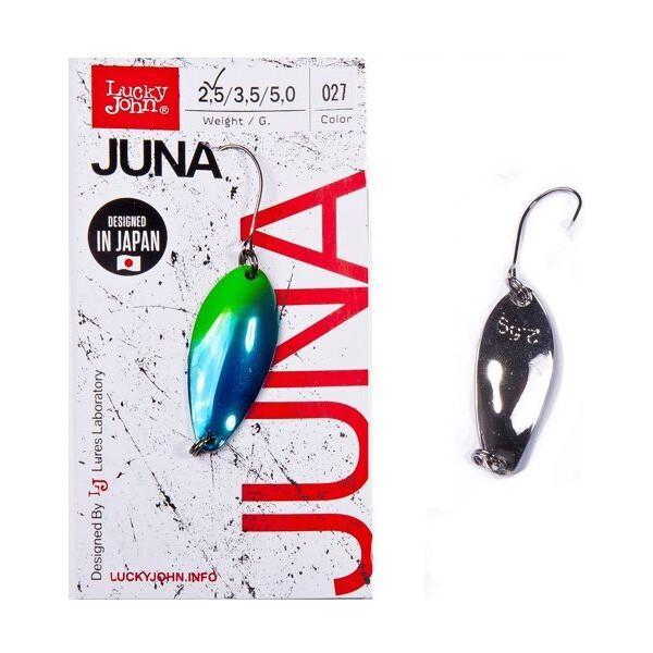 Купить Блесна, колебалка LJ Area Trout Game JUNA 2.5г / 027 (LJJU25-027), Lucky John