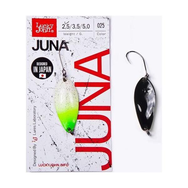 Купить Блесна, колебалка LJ Area Trout Game JUNA 2.5г / 025 (LJJU25-025), Lucky John