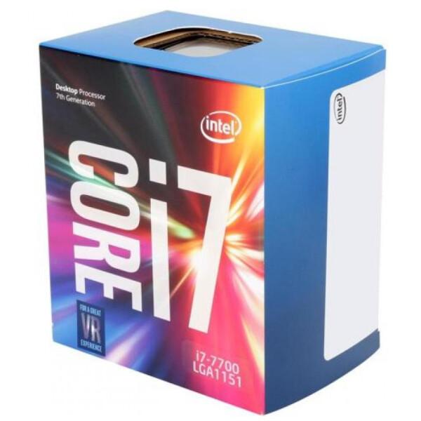 Купить Процессоры, Intel Core i7 7700 3.6GHz (8MB, Kaby Lake, 65W, S1151) Box (BX80677I77700)
