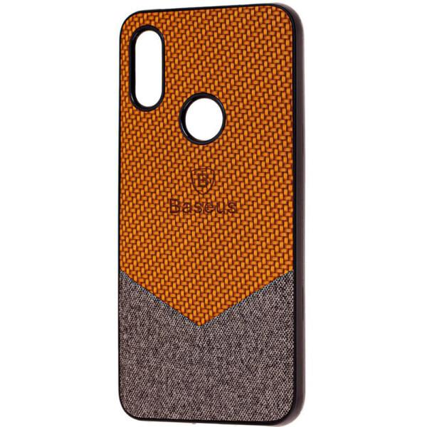 TPU чехол Baseus Сolor textile для Xiaomi Redmi 7 (Коричневый) (749404)