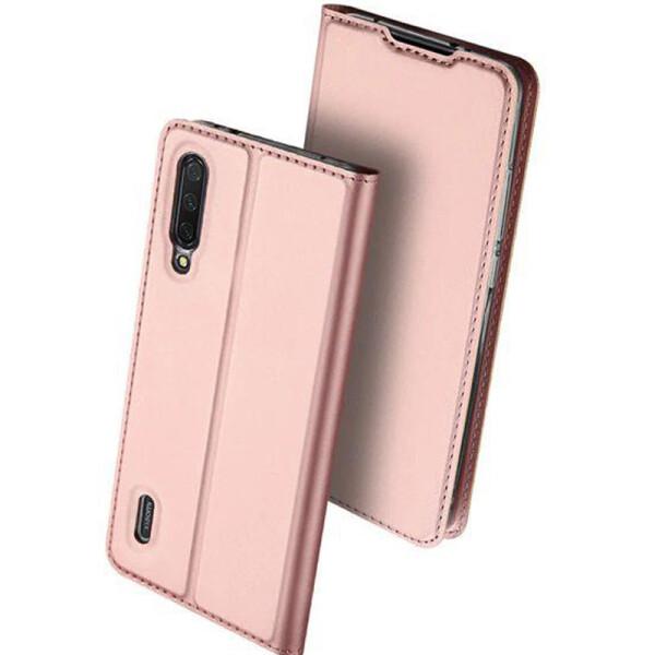 Купить Чехлы для телефонов, Чехол-книжка Dux Ducis с карманом для визиток для Xiaomi Mi A3 (CC9e) (Rose Gold) (749645), Epik