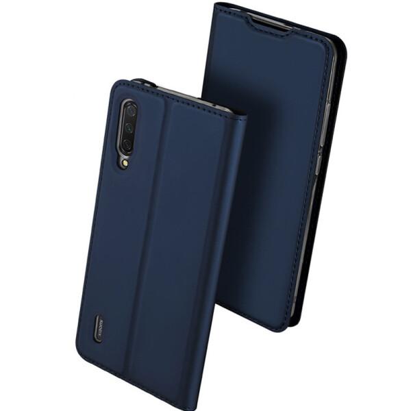 Купить Чехлы для телефонов, Чехол-книжка Dux Ducis с карманом для визиток для Xiaomi Mi A3 (CC9e) (Синий) (749648), Epik