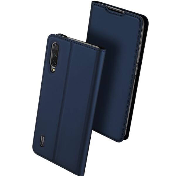 Купить Чехлы для телефонов, Чехол-книжка Dux Ducis с карманом для визиток для Xiaomi Mi CC9 / Mi 9 Lite (Синий) (749654), Epik