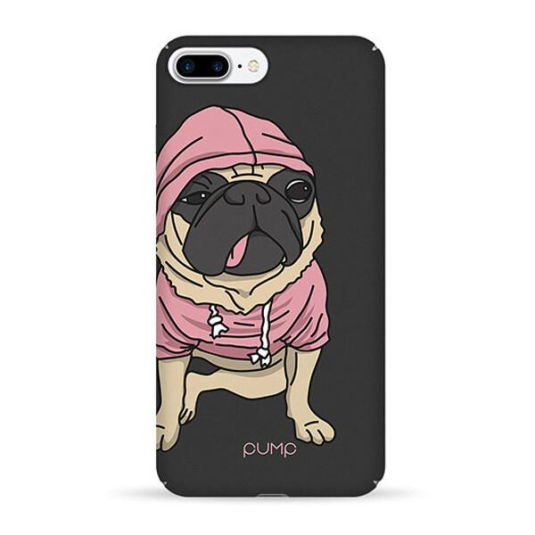 Купить Чехлы для телефонов, Чехол Pump Tender Touch для Apple iPhone 7 plus / 8 plus (5.5) (Mops) (766194)