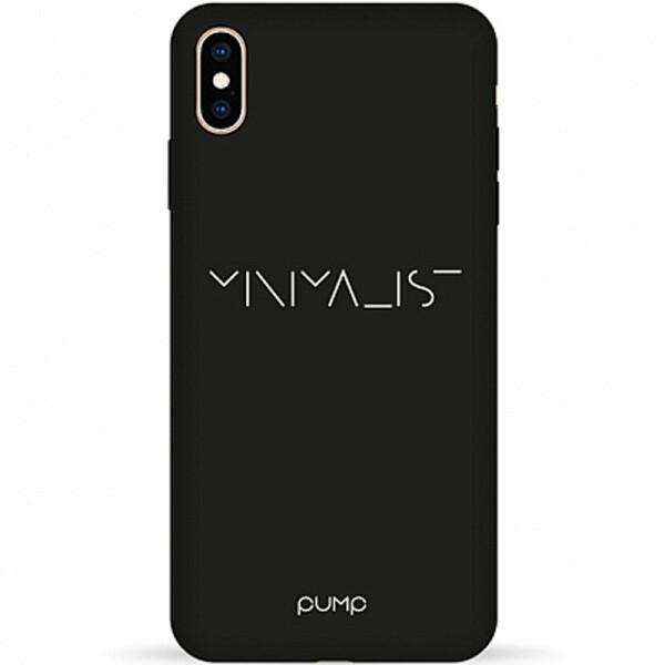 Купить Чехлы для телефонов, Чехол Pump Silicone Minimalistic для Apple iPhone XS Max (6.5) (Minimalist) (748946)
