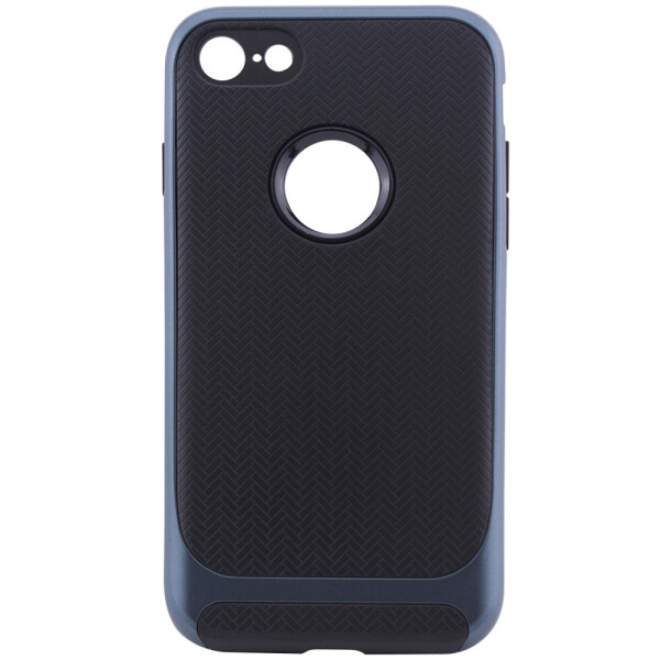 Купить Чехлы для телефонов, TPU+PC чехол Deen Royce Series для Apple iPhone 7 (4.7'') Черный / Синий (77234)