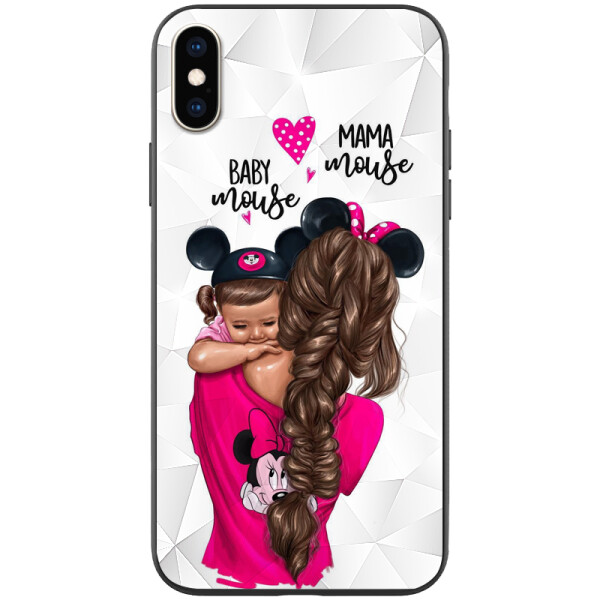 Купить Чехлы для телефонов, TPU+PC чехол Prisma Ladies для Apple iPhone XS Max (6.5) Mama mouse (115922), Epik