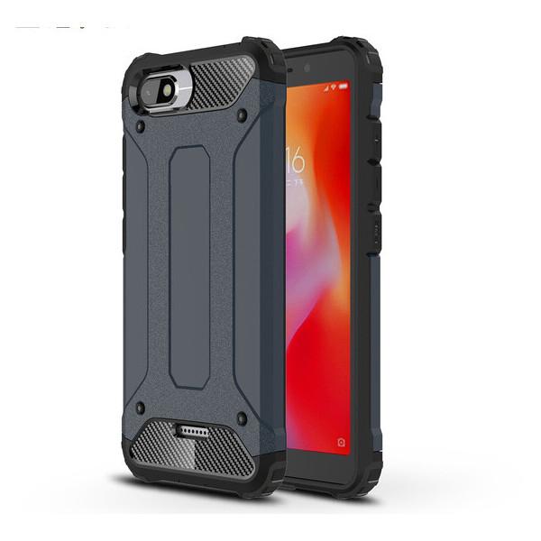 Купить Чехлы для телефонов, Бронированный противоударный TPU+PC чехол Immortal для Xiaomi Redmi 6A Серый / Metal slate (87726), Epik