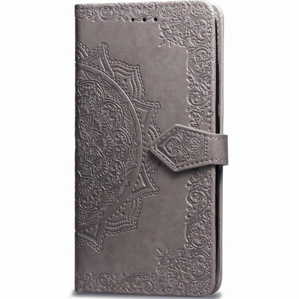 Купить Чехлы для телефонов, Кожаный чехол (книжка) Art Case с визитницей для Xiaomi Mi 9T Pro Серый (108023), Epik