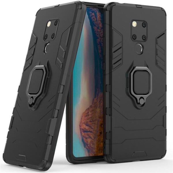 Купить Чехлы для телефонов, Ударопрочный чехол Transformer Ring под магнитный держатель для Huawei Mate 20 X Черный / Soul Black (99837), Epik
