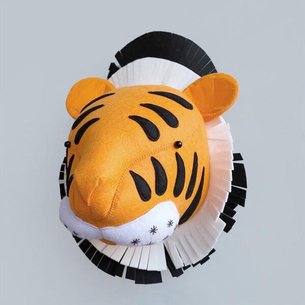 Акция на Мягкая игрушка украшение Тигр Berni Kids Оранжевый (49350) от Allo UA
