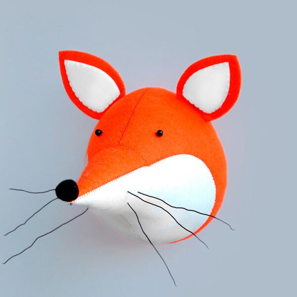 Акция на Мягкая игрушка украшение Лиса Berni Kids Оранжевый (49353) от Allo UA