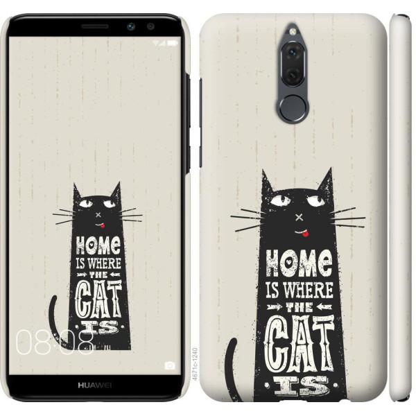 Купить Чехлы для телефонов, Чехол на Huawei Mate 10 Lite Кот (04798), MMC