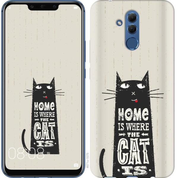 Купить Чехлы для телефонов, Чехол на Huawei Mate 20 Lite Кот (04798), MMC