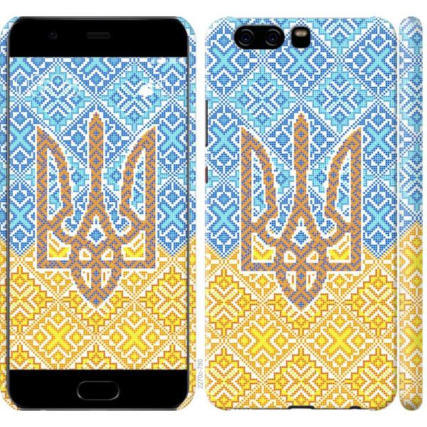 Купить Чехлы для телефонов, Чехол на Huawei P10 Герб Украины 2 (04798), MMC