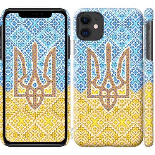 Купить Чехлы для телефонов, Чехол на iPhone 11 Герб Украины 2 (04798), MMC