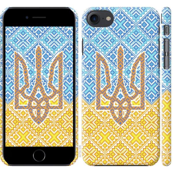 Купить Чехлы для телефонов, Чехол на iPhone 8 Герб Украины 2 (04798), MMC