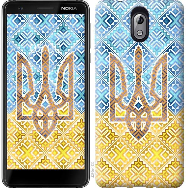 Купить Чехлы для телефонов, Чехол на Nokia 3.1 Герб Украины 2 (04798), MMC