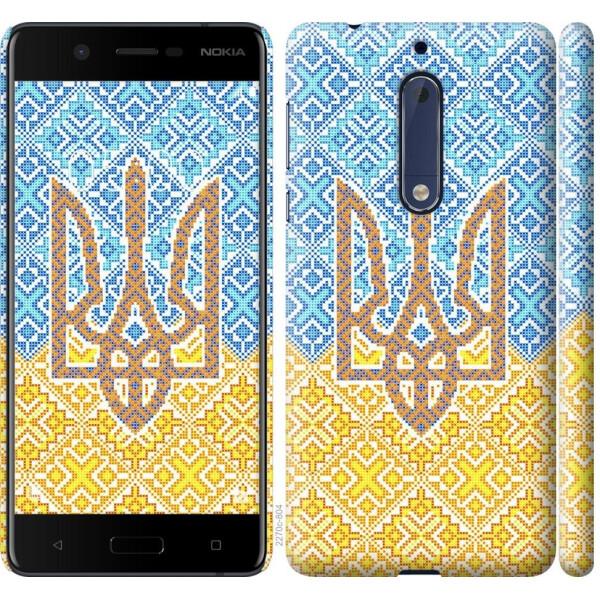 Купить Чехлы для телефонов, Чехол на Nokia 5 Герб Украины 2 (04798), MMC