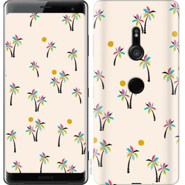 Купить Чехлы для телефонов, Чехол на Sony Xperia XZ3 H9436 Пальмочки (04798), MMC