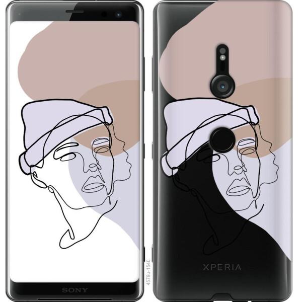 Купить Чехлы для телефонов, Чехол на Sony Xperia XZ3 H9436 Силуэт (04798), MMC