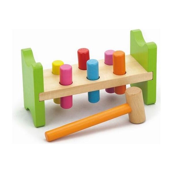 Купить Игрушки для самых маленьких, Игрушка Viga Toys модель Забей гвоздик