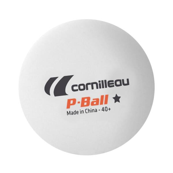 Cornilleau мячи для настольного тенниса P-BALL белый 72 шт.