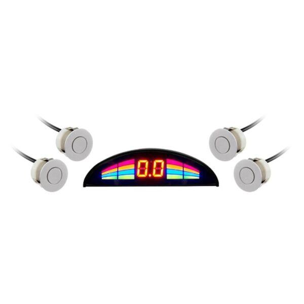 Парковочный радар GT P Rainbow 4 white