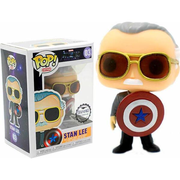 Купить Фигурки игровые, персонажи мультфильмов, Фигурка Funko Pop Фанко Поп Stan Lee Стэн ЛиМстители Avengers М SL03