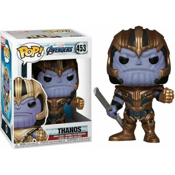 Купить Фигурки игровые, персонажи мультфильмов, Фигурка Funko Pop Фанко Поп Мстители Танос Avengers Thanos 10 см thanos 453
