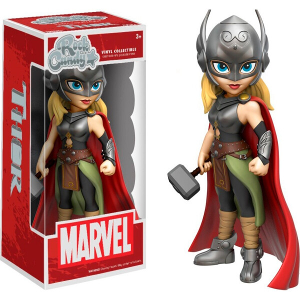 Купить Фигурки игровые, персонажи мультфильмов, Фигурка Funko Rock Candy Фанко Рок Кэнди Марвел Леди Тор Marvel Lady Thor 12, 5 см thor RK 1 LT