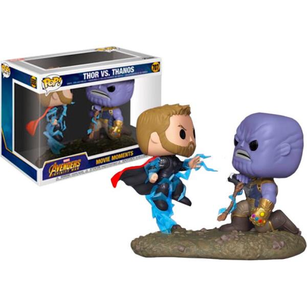 Купить Фигурки игровые, персонажи мультфильмов, Набор фигурок Funko Pop Фанко Поп Момент Танос против Moments Тора Thor Vs. Thanos 15 см thor 707