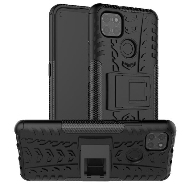 Защитный чехол UniCase Hybrid X для Motorola Moto G9 Power - Black