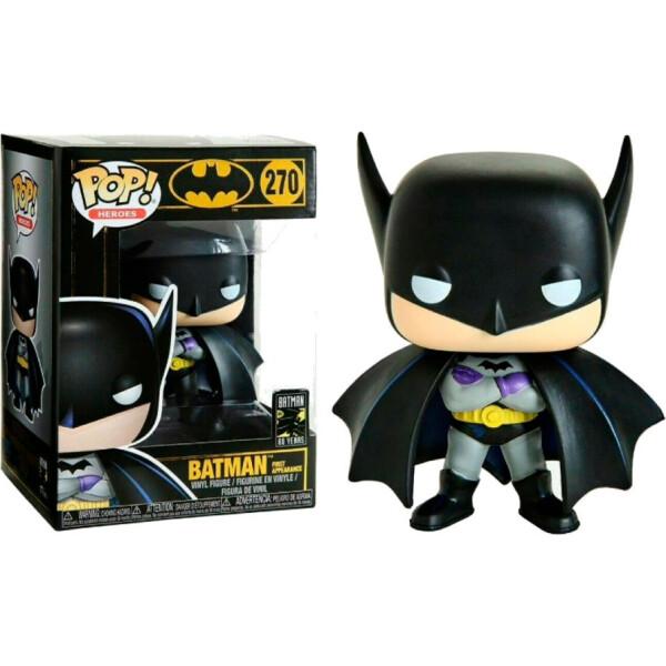 Купить Фигурки игровые, персонажи мультфильмов, Фигурка Funko Pop Фанко Поп ДС Бэтмен Batman 80th - Batman 1st Appearance (1939) DC B270