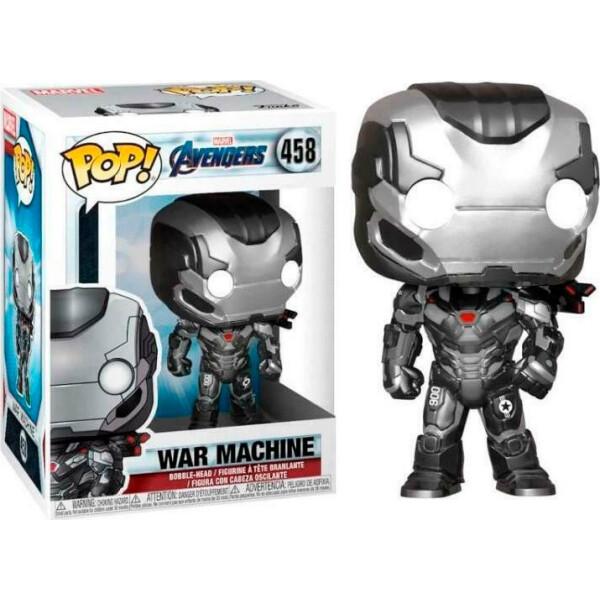 Купить Фигурки игровые, персонажи мультфильмов, Фигурка Funko Pop Avengers Endgame War Machine Мстители Финал Железный Патриот 10 см IM WM458