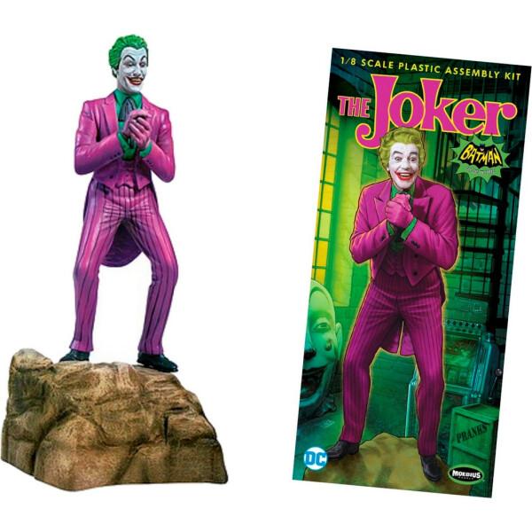 Купить Фигурки игровые, персонажи мультфильмов, Модель ДжокерBatman Classic 1966 TV Series Joker Model Kit Moebius Models, GeekLand