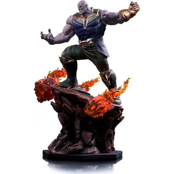Фигурки игровые, персонажи мультфильмов, Статуэтка Sideshow Мстители Танос Avengers Thanos 35 см BL A T  - купить со скидкой