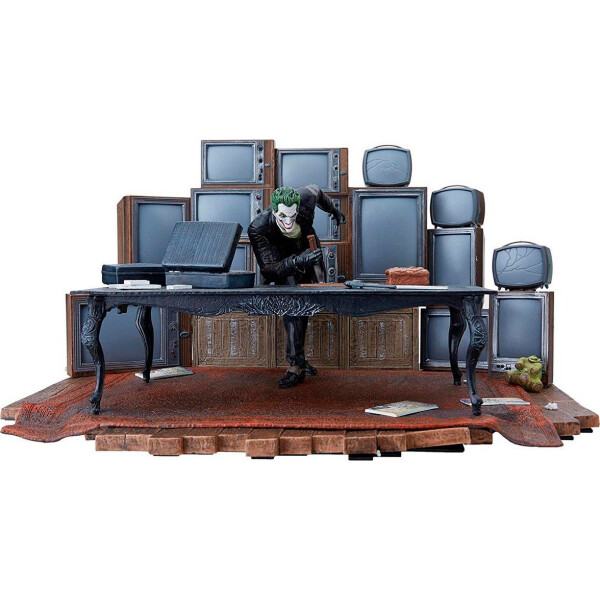 Купить Фигурки игровые, персонажи мультфильмов, Фигурка коллекционное издание ДС DC Бэтмен:Летопись Аркхема - Джокер Batman Arkham Origins Joker BL56