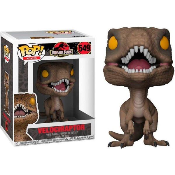 Купить Фигурки игровые, персонажи мультфильмов, Фигурка Funko Pop Фанко Поп Jurassic Park Velociraptor Парк Юрского периода Велоцираптор 10см JP549
