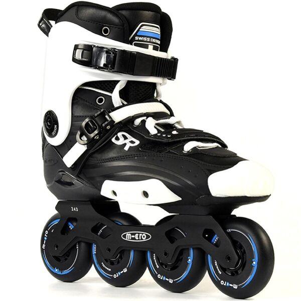 Micro Skates / Роликовые коньки Micro Super 39 Черный-Белый