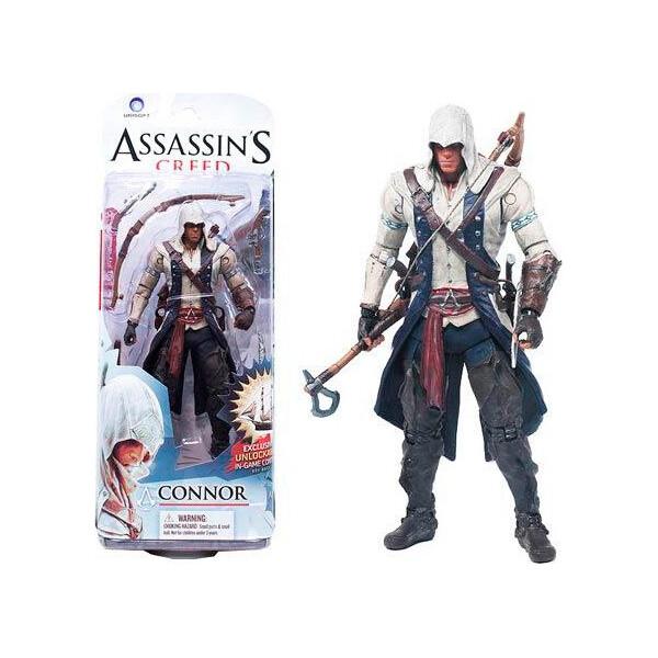 Купить Фигурки игровые, персонажи мультфильмов, Фигурка Коннора Кенуэя Кредо ассасина Assassins creed III, GeekLand
