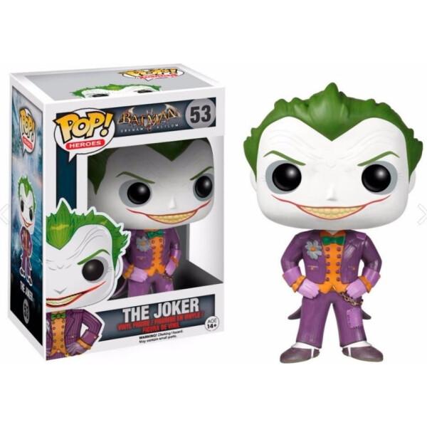 Купить Фигурки игровые, персонажи мультфильмов, Фигурка Funko Pop Фанко Поп Batman Arkham Asylum The Joker Бэтмен Психбольница Аркхэм Джокер 10 см JK53
