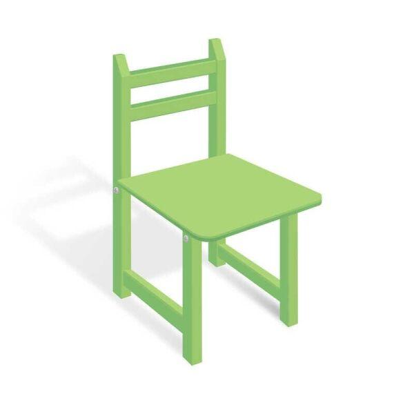 Стульчик СЦ 001 цвет зеленый, 32см