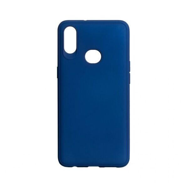 Силиконовый чехол Logo Colour для Samsung Galaxy A10s (MidnightBlue)