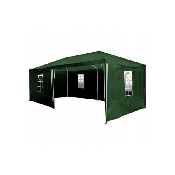 Садовый павильон, коммерческая палатка 3х6 м, 6 стенок в комплекте
