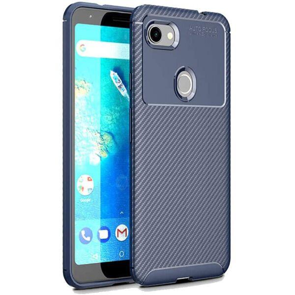 Чехол Carbon Case для Google Pixel 3A XL Blue