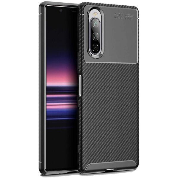 Чехол Carbon Case для Sony Xperia 10 II Black