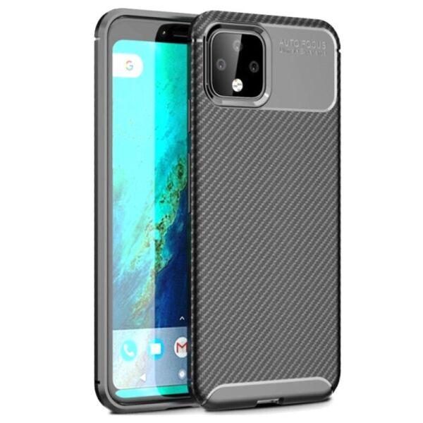 Чехол Carbon Case для Google Pixel 4 Black