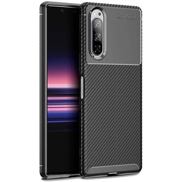 Чехол Carbon Case для Sony Xperia 5 Black