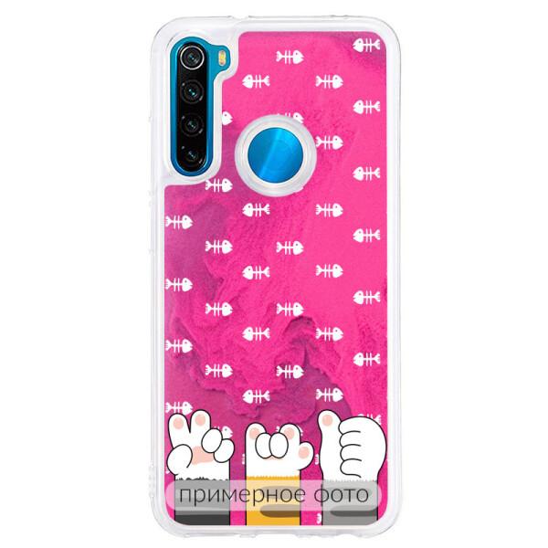 Купить Чехлы для телефонов, TPU+PC чехол ForFun Neon sand для Xiaomi Redmi Note 7 / Note 7 Pro / Note 7s (Розовый Лапы) (769911), Epik